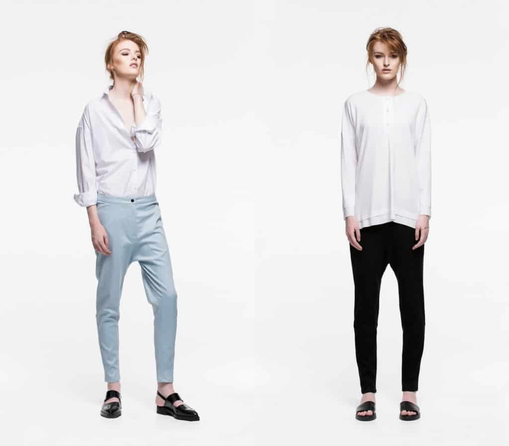 Minimalist, Androgynous, Modern, Tailored.