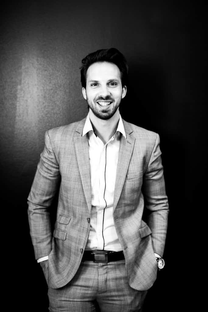 Uros Mikic, Creative Director and Co-owner of Kinky Curly Straight in Adelaide