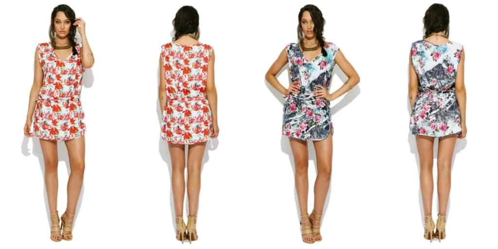 V-neck dress from We Are Handsome