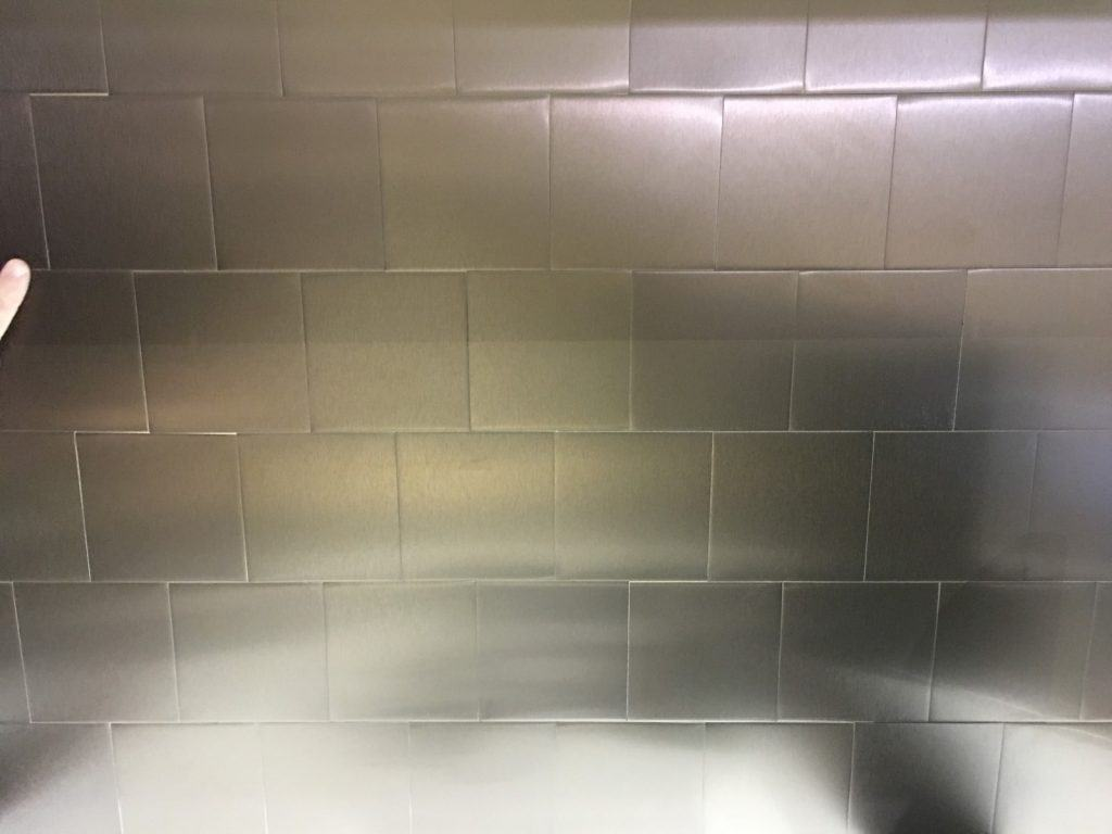 self-adhesive metal tiles