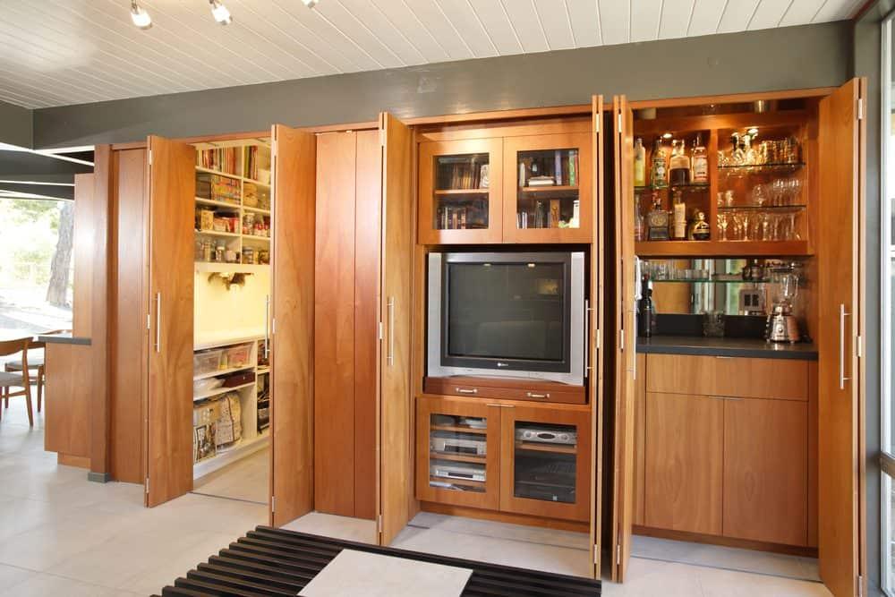 stylish tv storage