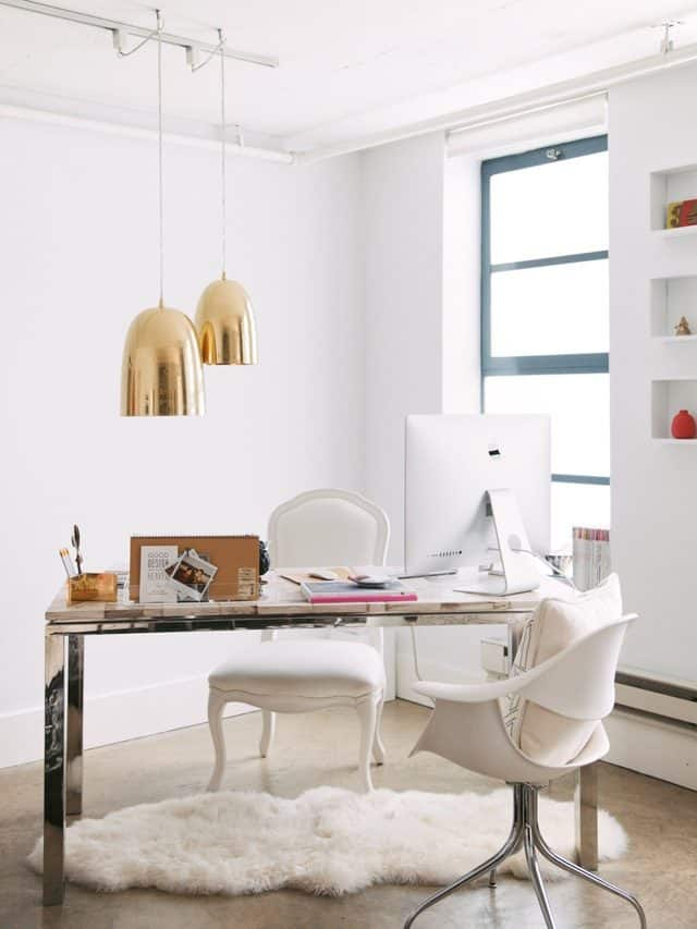 feminine inspired workspaces