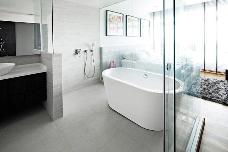 Open-Concept Bathroom For Master Suite A New Trend