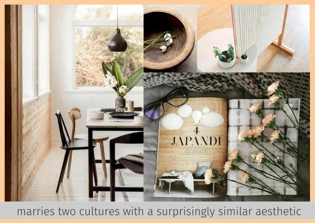 Japandi design