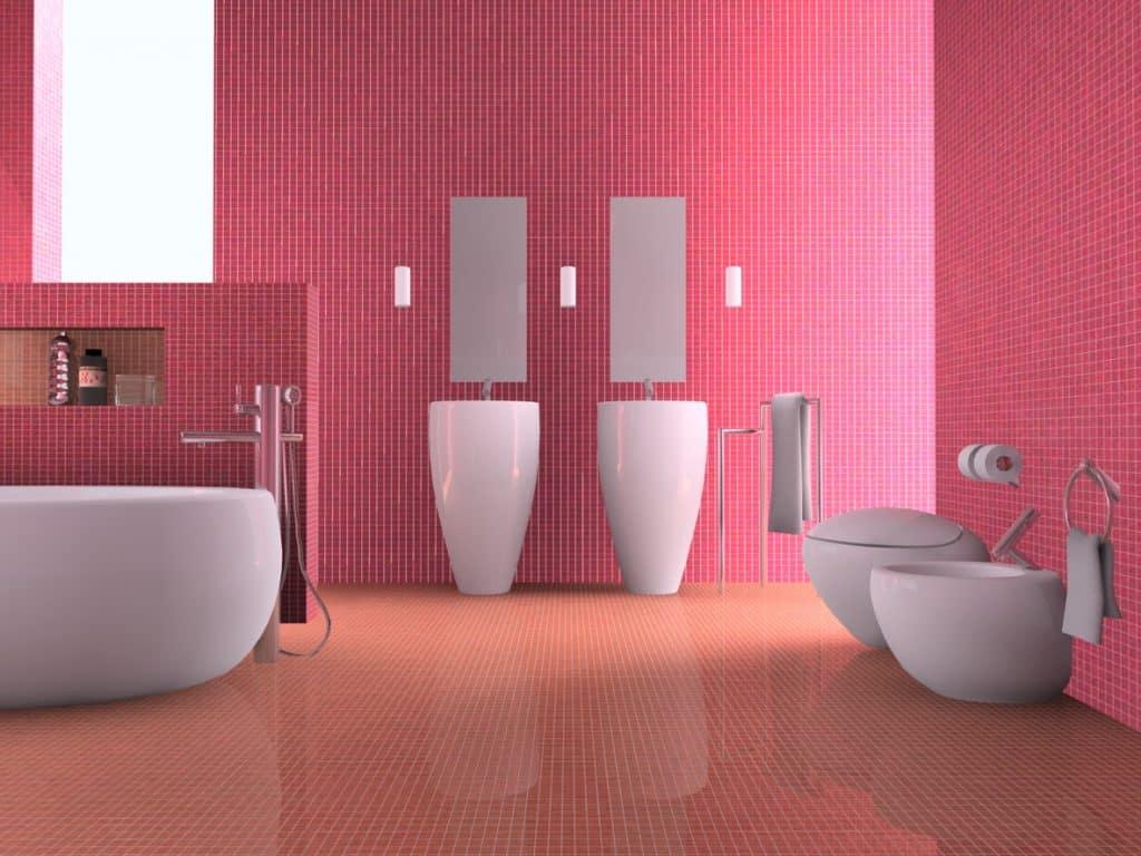 bad bathroom moisture