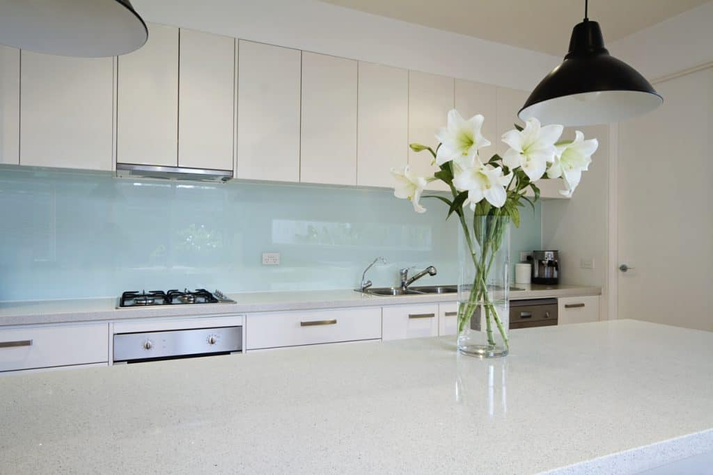 stylish splashback