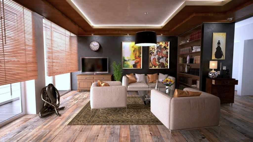 open-plan home