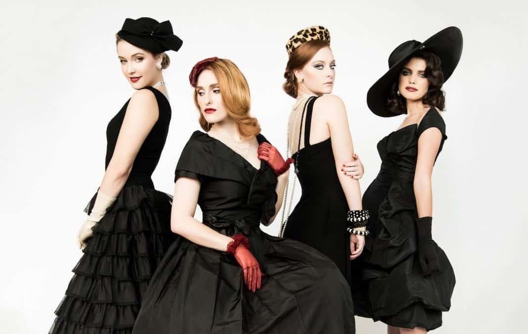 Little Black Dress In Classic Retrospective