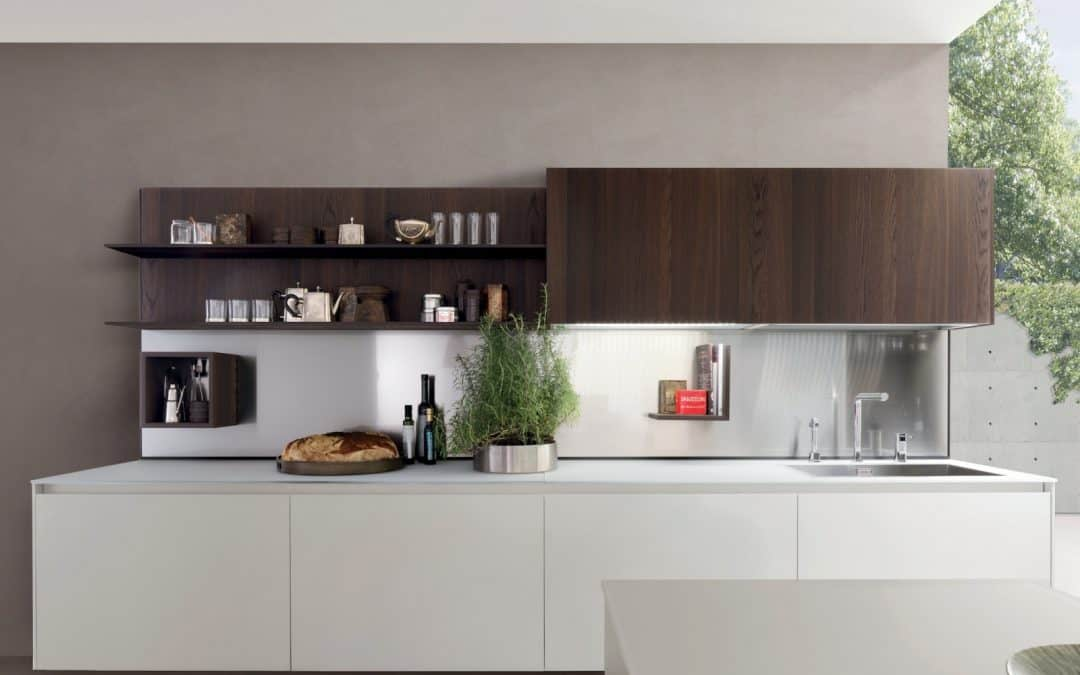 Kubic : The Modern Luminous New Kitchen from Gruppo Euromobil