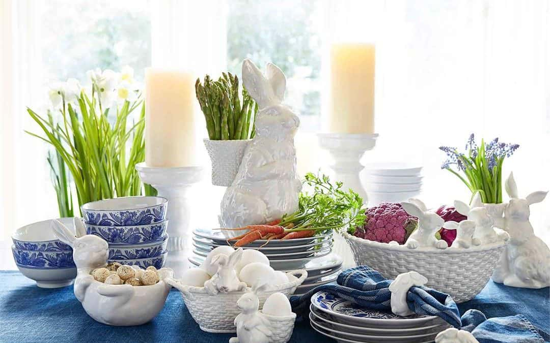 Pottery Barn Easter Table Setting Ideas