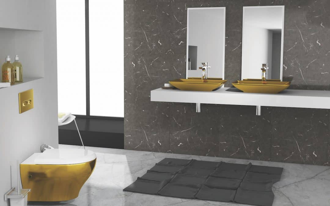 Gold Metallic Design for Opulent Excellence