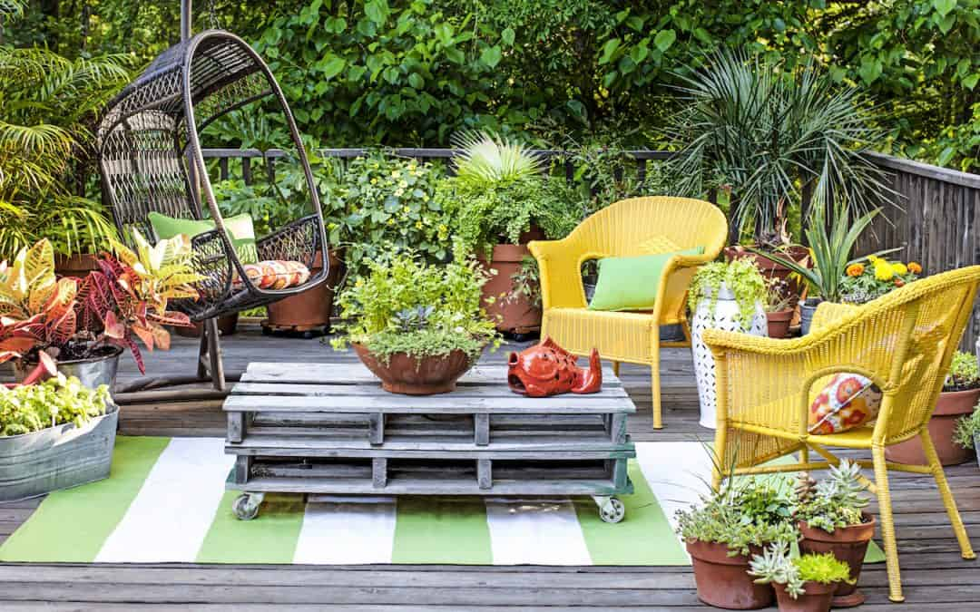 Small Gardens : Maximise Your Space Stylishly