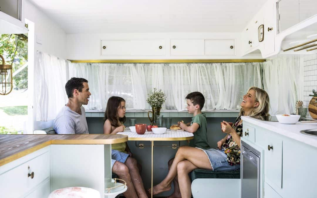 Caravan Renovation 'How-To' from The Block Alumni