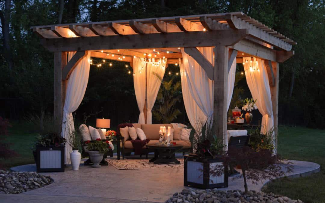 Choosing The Perfect Garden Gazebo Or Pergola