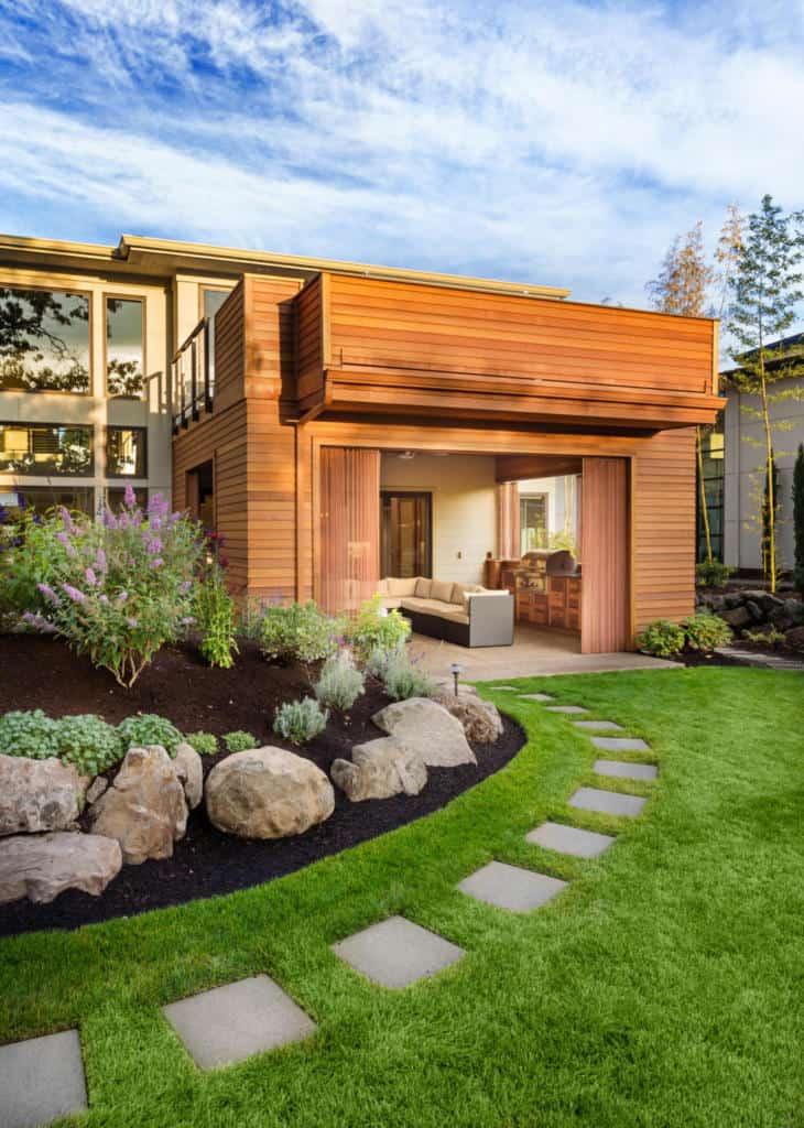 blissful backyard beautifications