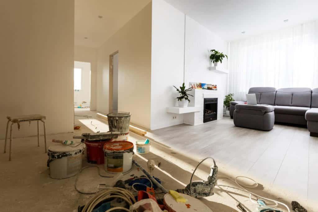 renovation tidy tips
