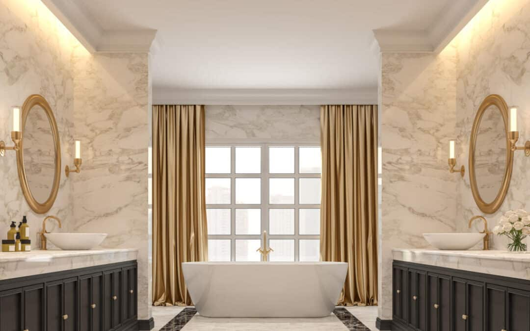 A Bathroom Renovation That Reflects A Luxury Hotel Aesthetic