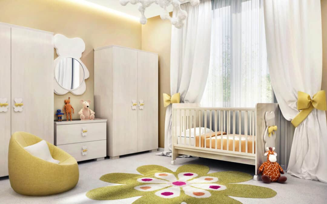 Baby Nursery Decorating For A Calm + Beautiful Room