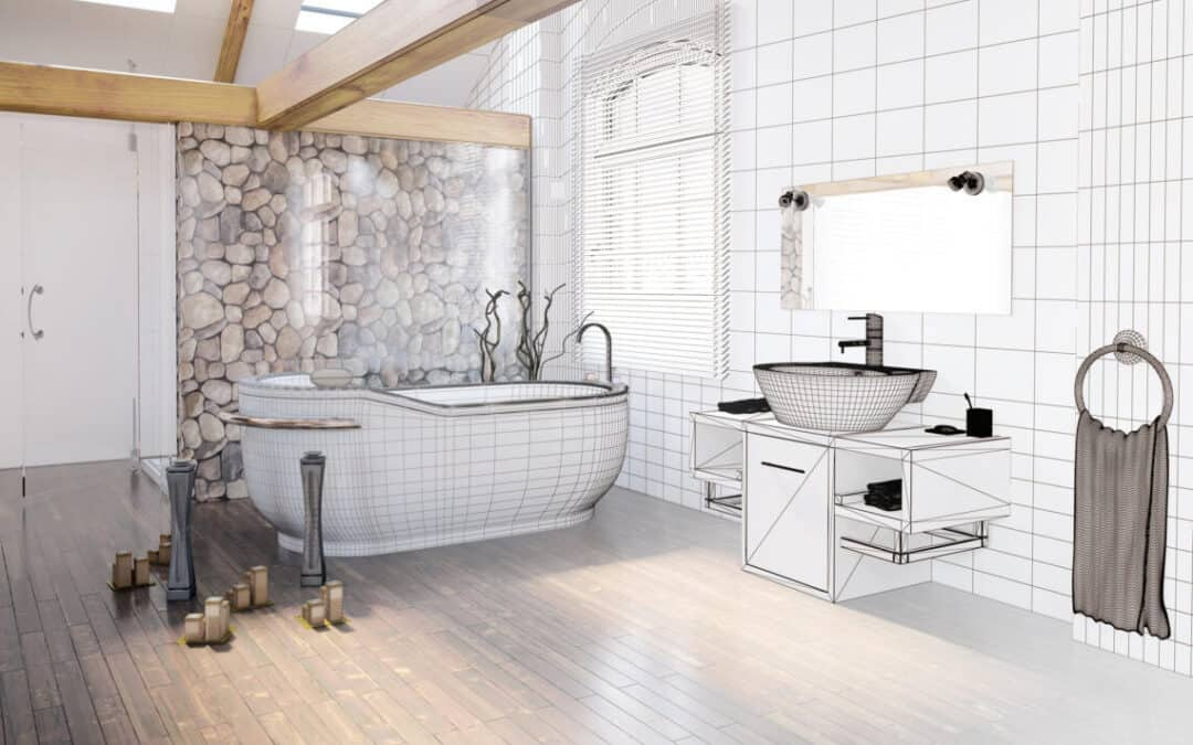 Create A Beautiful Bathroom That's Functional AND Aesthetic
