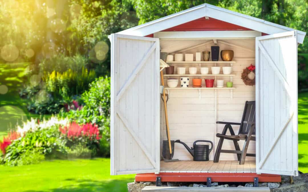 Creative Ideas For Your Outdoor Shed Organisation