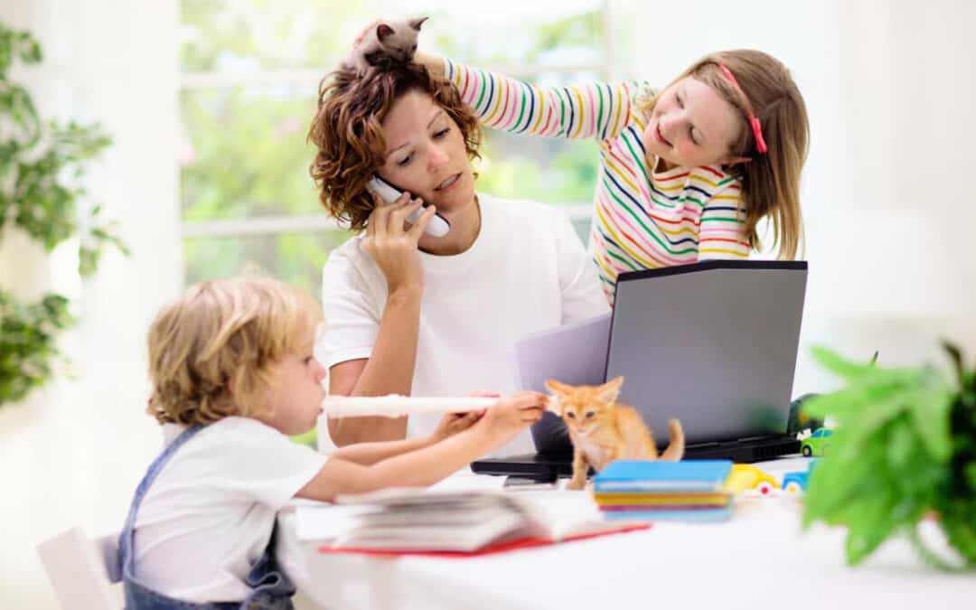 Clever Ways To Work From Home With Kids